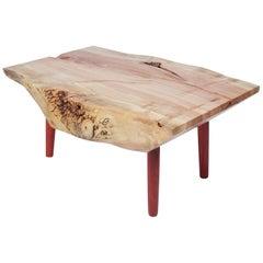 Unique Maple Signed Table by Jörg Pietschmann