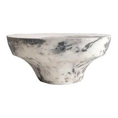 Unique Marbled Salts Low Gueridon, Roxane Lahidji