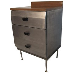 Unique Metal Chest of Drawers