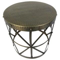Unique Metal Side Table