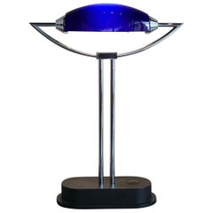 Unique Mid-Century Modernist Table Lamp by Peill & Putzler, 1980s