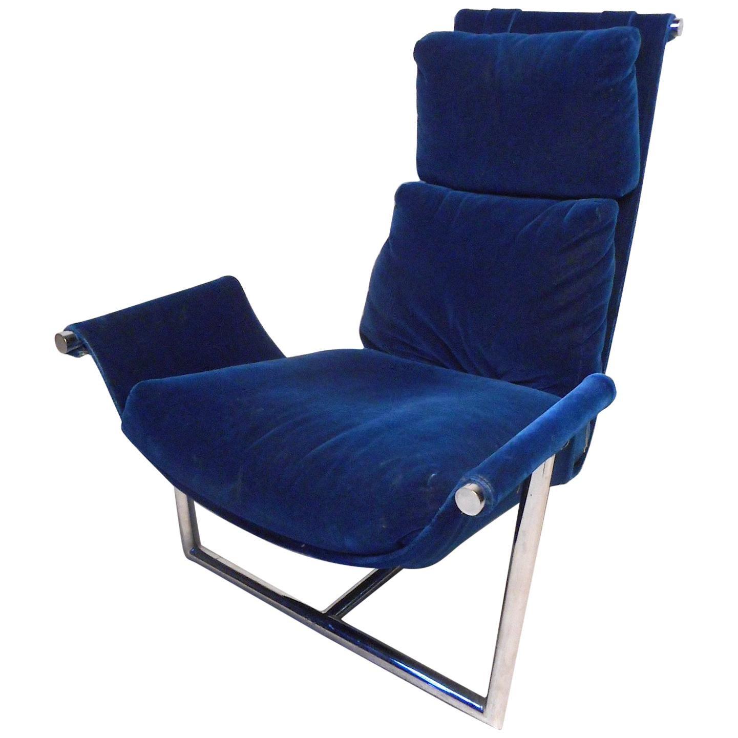 Unique Midcentury Sling Chair