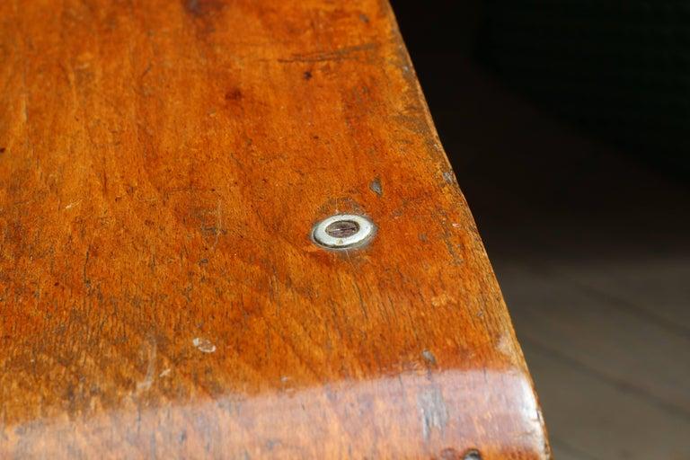 Unique Midcentury Wooden Chair by Jean Prouvé For Sale 4