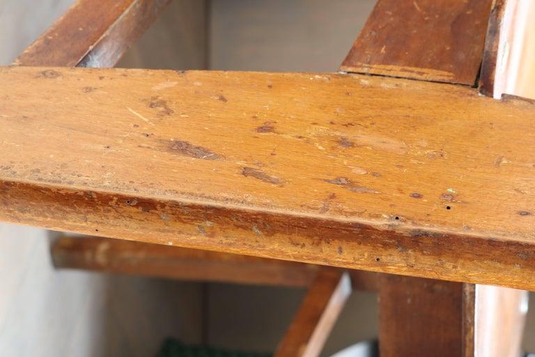Unique Midcentury Wooden Chair by Jean Prouvé For Sale 9