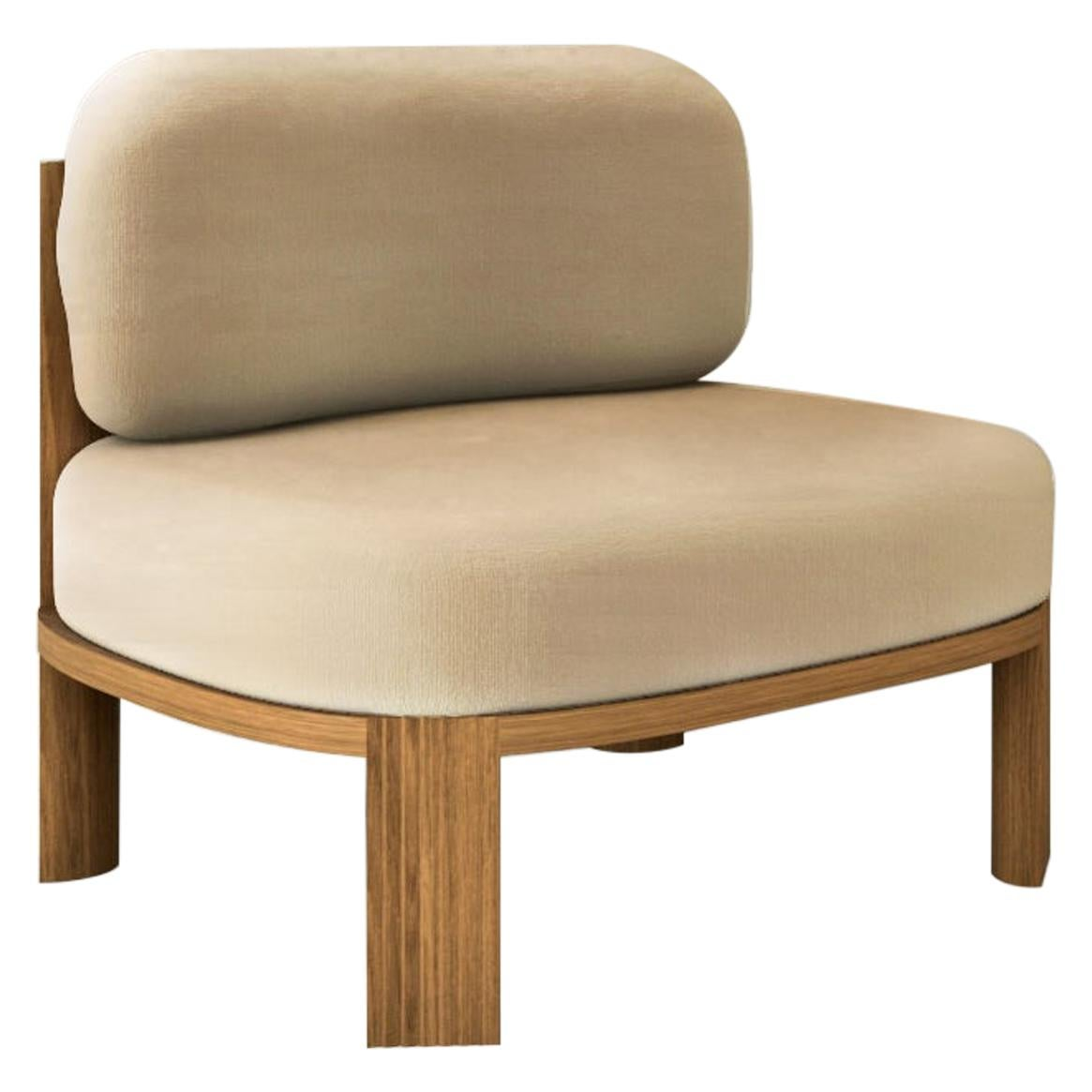 Oak Armchair by Collector
