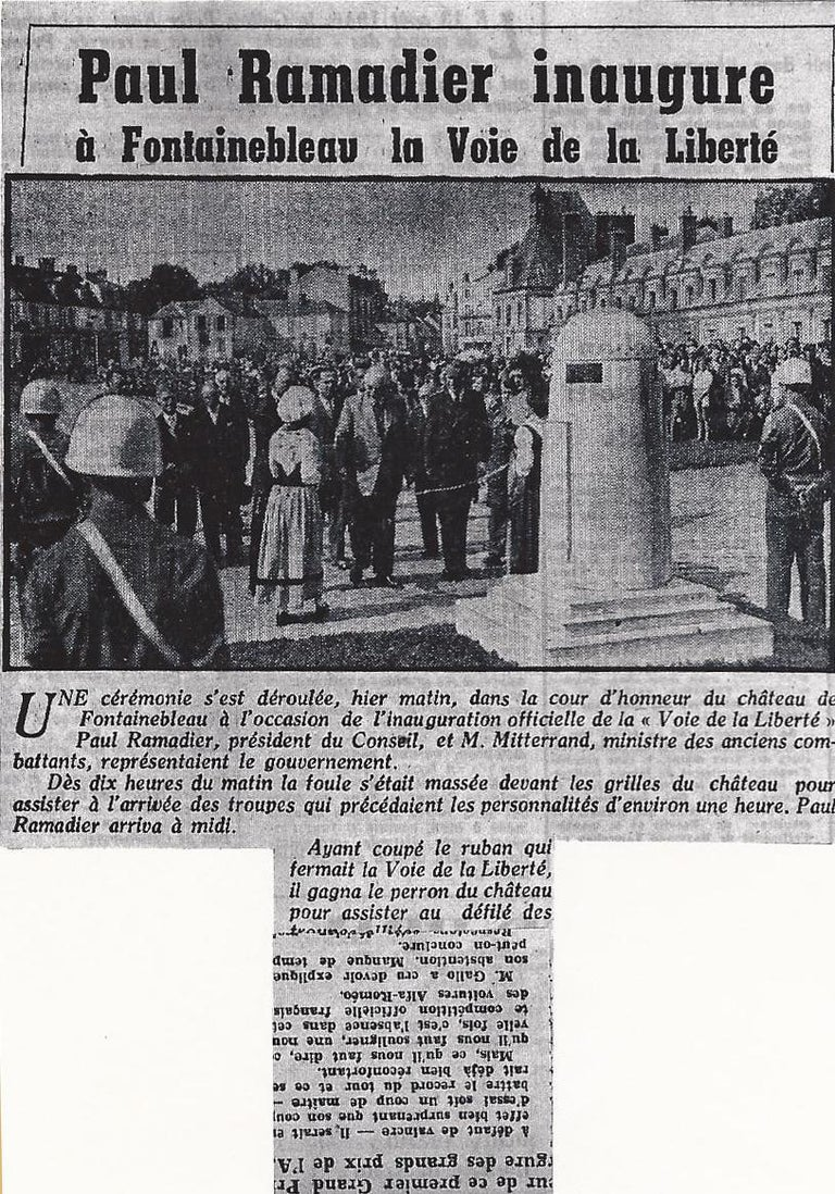 Unique Original D-Day Monument of the Liberty Highway in Normandy For Sale 13