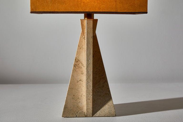Unique Pair of Table Lamps by Cerri Nestore For Sale 3