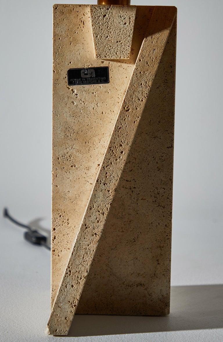 Unique Pair of Table Lamps by Cerri Nestore For Sale 5