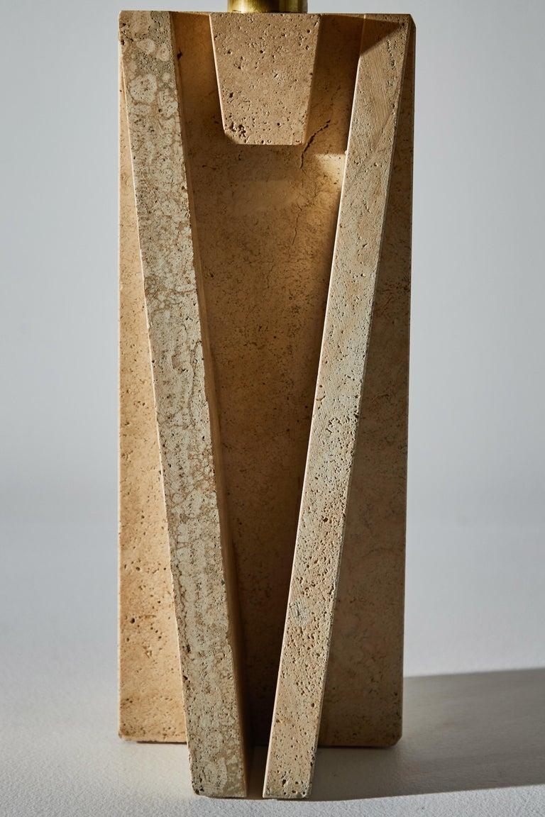 Unique Pair of Table Lamps by Cerri Nestore For Sale 6