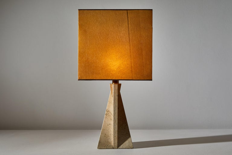 Unique Pair of Table Lamps by Cerri Nestore In Good Condition For Sale In Los Angeles, CA
