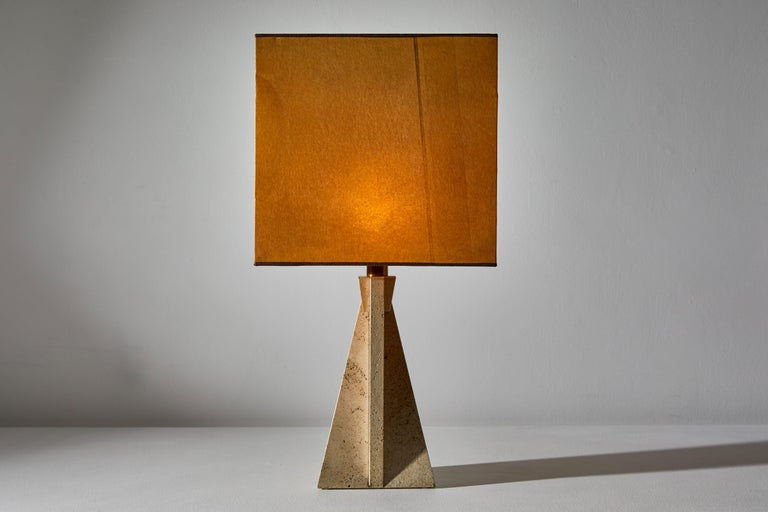 Late 20th Century Unique Pair of Table Lamps by Cerri Nestore For Sale