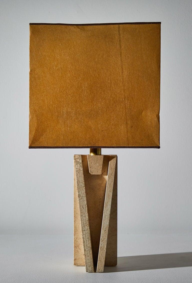 Unique Pair of Table Lamps by Cerri Nestore For Sale 1