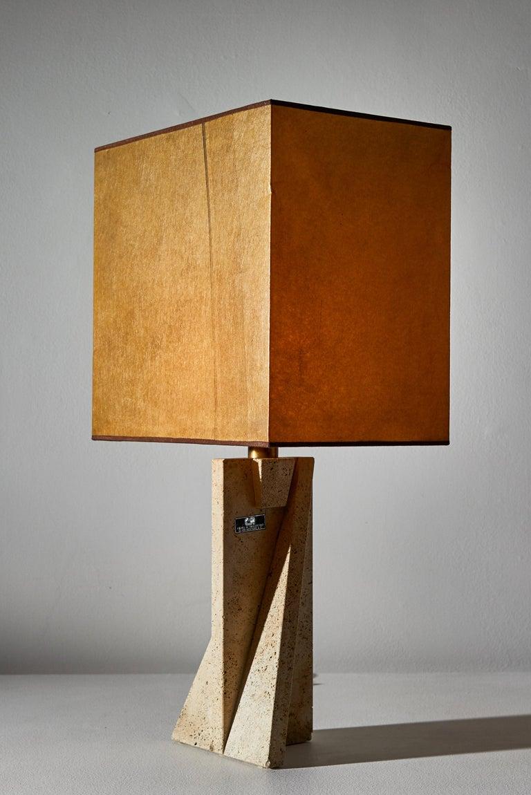 Unique Pair of Table Lamps by Cerri Nestore For Sale 2