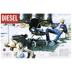 Unique Photography by Ellen Von Unwerth for Diesel Jeans Advertisements