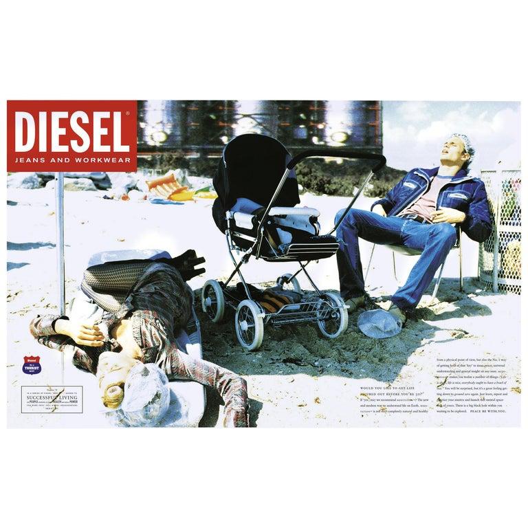 Unique Photography by Ellen Von Unwerth for Diesel Jeans Advertisements For Sale