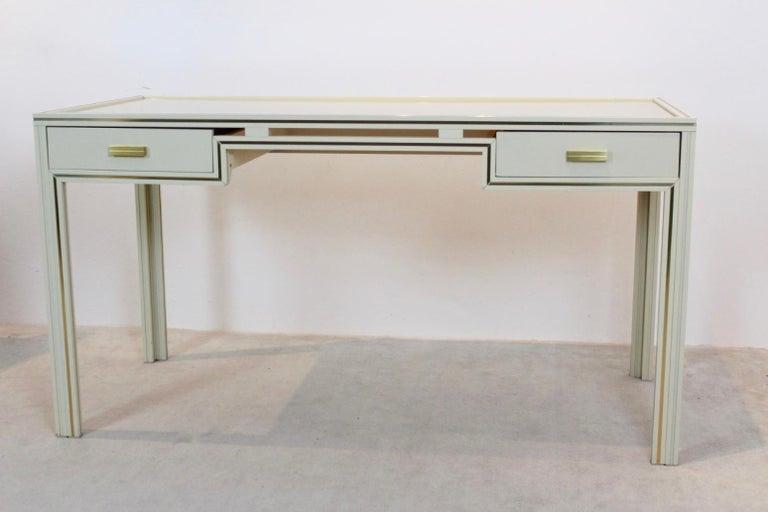 Unique Pierre Vandel Paris Desk, France, 1970s For Sale 5
