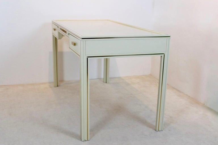 Mid-Century Modern Unique Pierre Vandel Paris Desk, France, 1970s For Sale