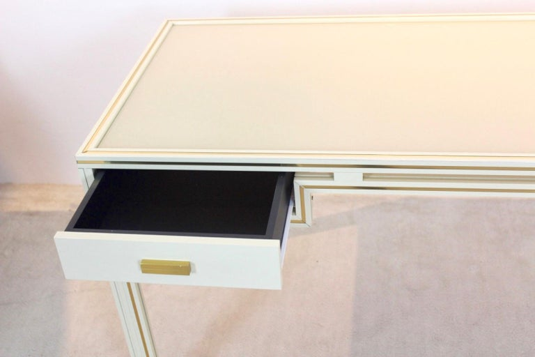 20th Century Unique Pierre Vandel Paris Desk, France, 1970s For Sale
