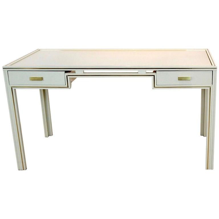Unique Pierre Vandel Paris Desk, France, 1970s For Sale