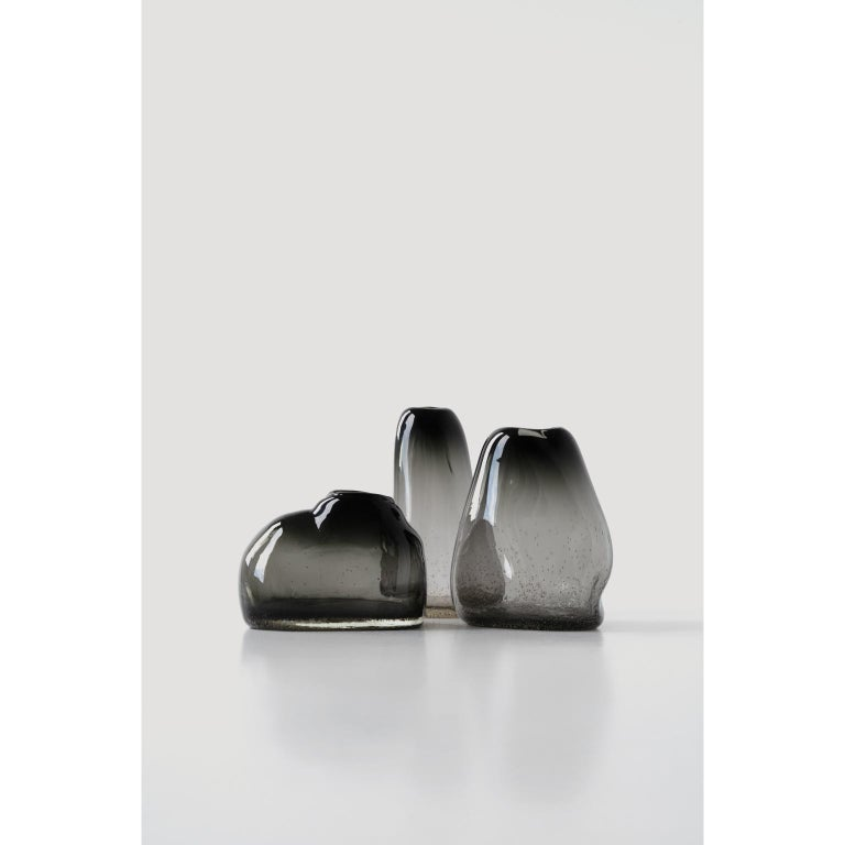 Modern Unique Plyn Set of Vases by Faina For Sale