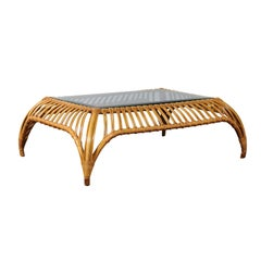 Unique Restored Tiara Coffee Table by Henry Olko for Willow and Reed, circa 1979