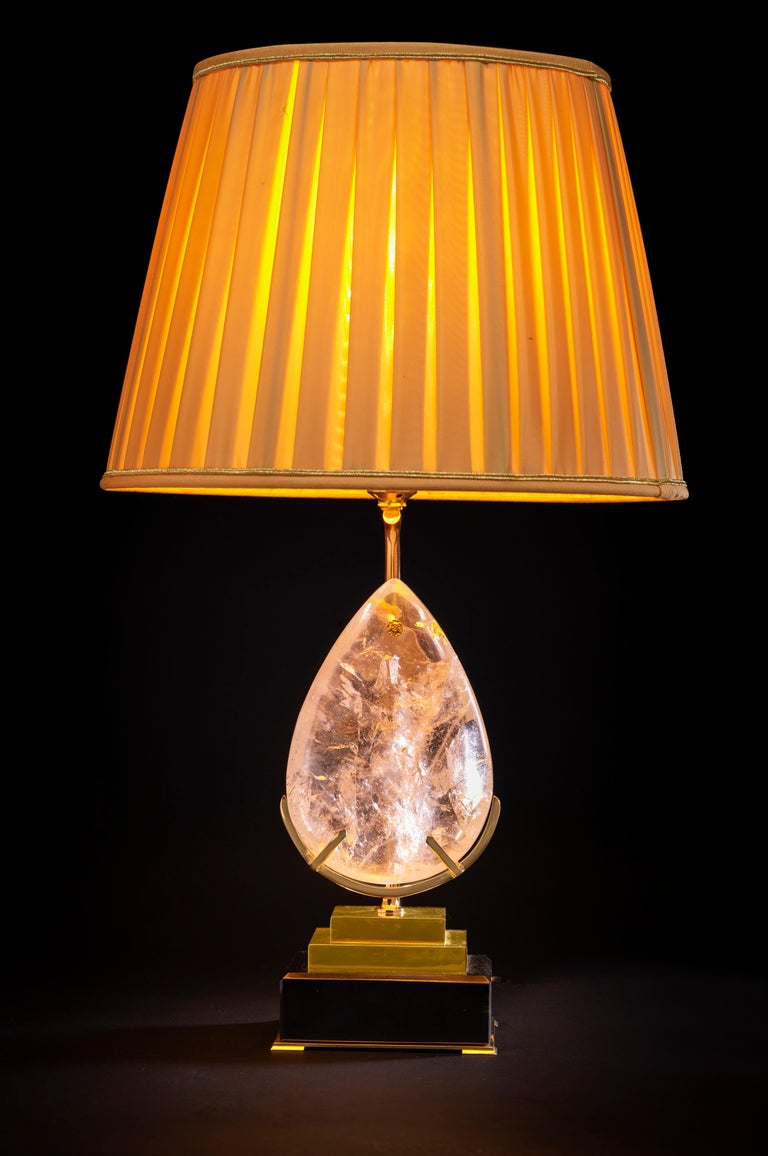Modern Unique Rock Crystal Lamp,