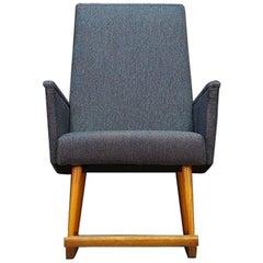 Einzigartiger Schaukelstuhl dänisches Design