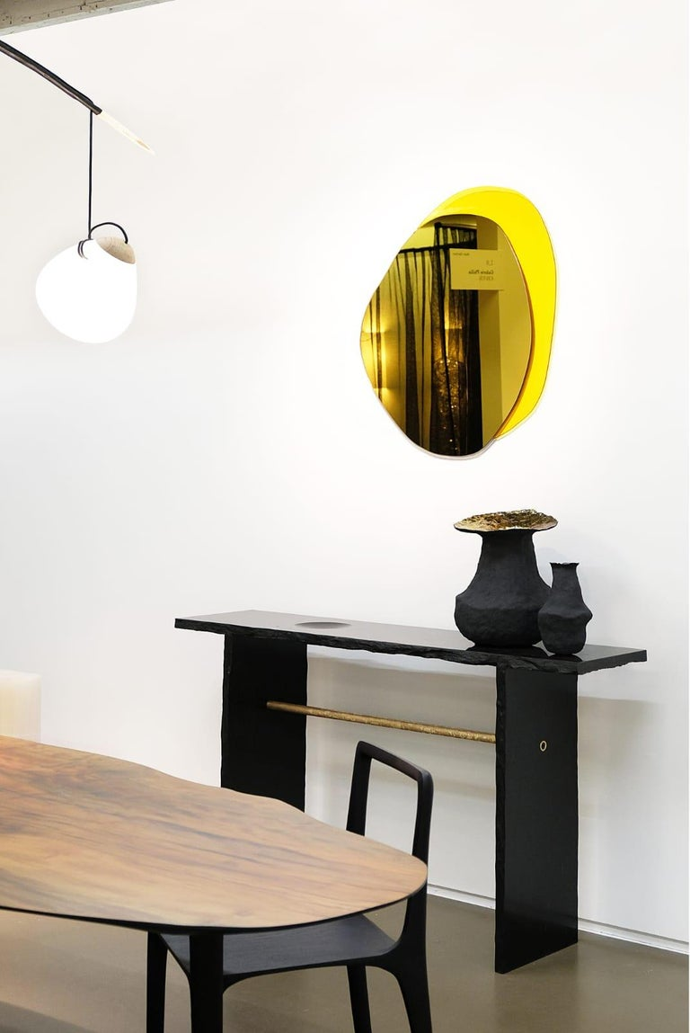 Unique Sculptural Dining Table Signed by Cedric Breisacher For Sale 2