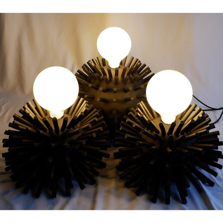 Other Unique Sculptural Lighting Structure by Ia Kutateladze For Sale