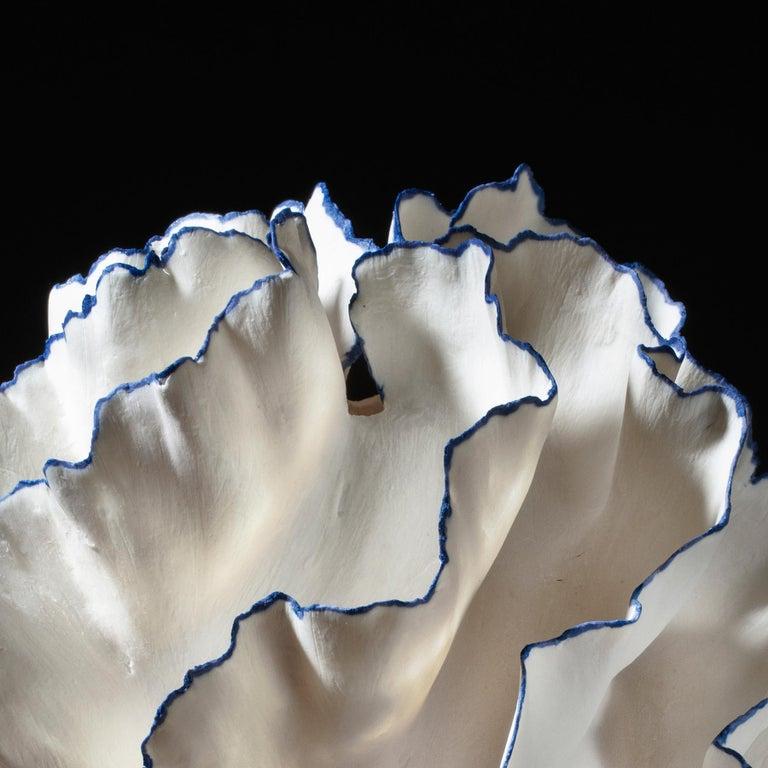 Danish Unique Sculptural Vessel by Sandra Davolio For Sale