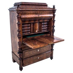 Unique Secretary Desk from Around 1850