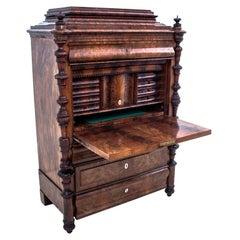 Unique Secretary Desk from Around 1850