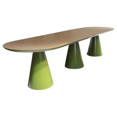 Unique Senventies Meeting Table Signed by Gigi Design