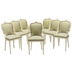 Unique, Set of 15, Garouste & Bonetti 'Palace' Dining Chairs, 1980