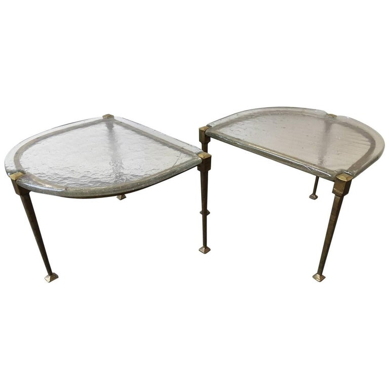 Unique Set Of Two Coffee Tables By Lothar Klute For Sale