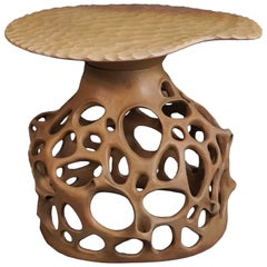Unique Side Table Fungi Handmade by Jan Ernst
