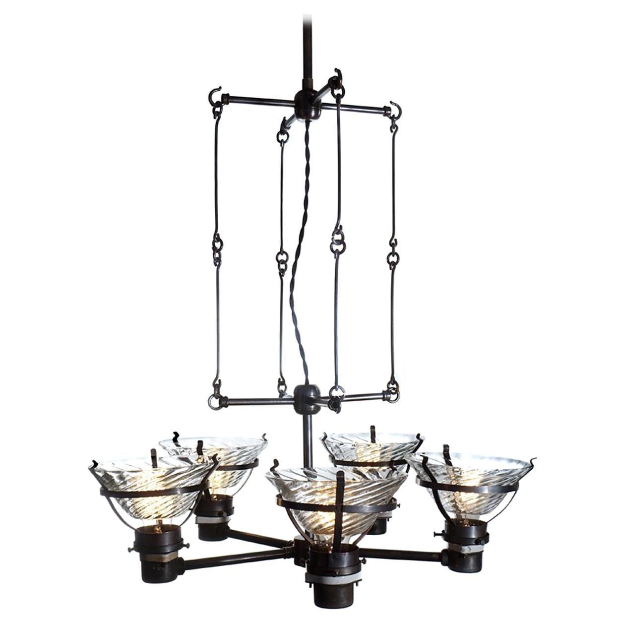 Unique Skeletal X-Ray Chandelier