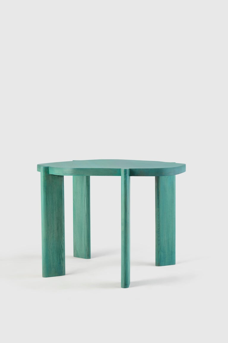 Modern Unique Small Hex Table by Saumil Suchak For Sale