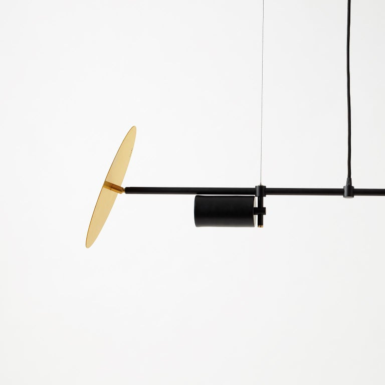 Modern Unique Sol Chandelier by Saumil Suchak For Sale