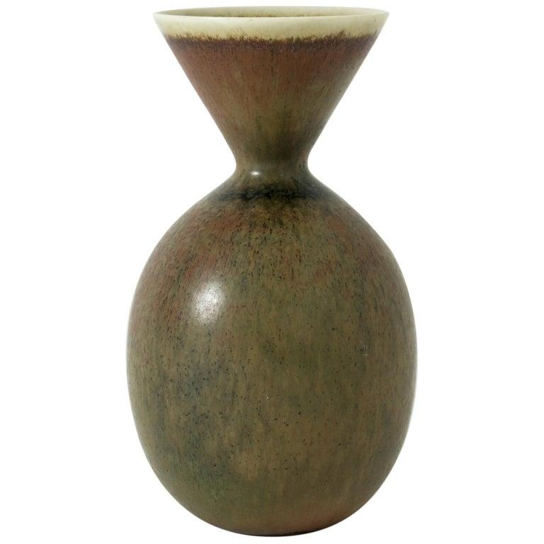 Carl-Harry Stålhane for Rörstrand vase, 1950s, offered by Nordlings