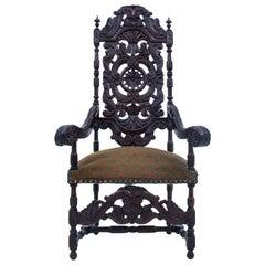 Unique Throne, France, Around 1890