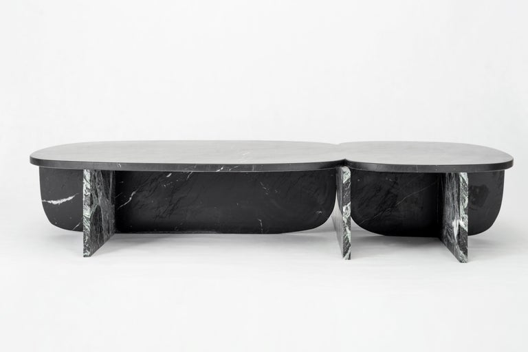 Unique Trilithon Marble Coffee Table, by Oskar Peet and Sophie Mensen For Sale 5