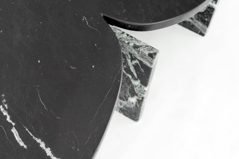 Unique Trilithon Marble Coffee Table, by Oskar Peet and Sophie Mensen For Sale 6