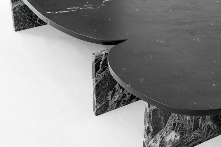 Unique Trilithon Marble Coffee Table, by Oskar Peet and Sophie Mensen For Sale 7
