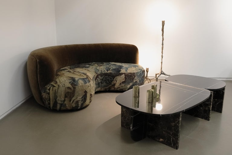Unique Trilithon Marble Coffee Table, by Oskar Peet and Sophie Mensen For Sale 3
