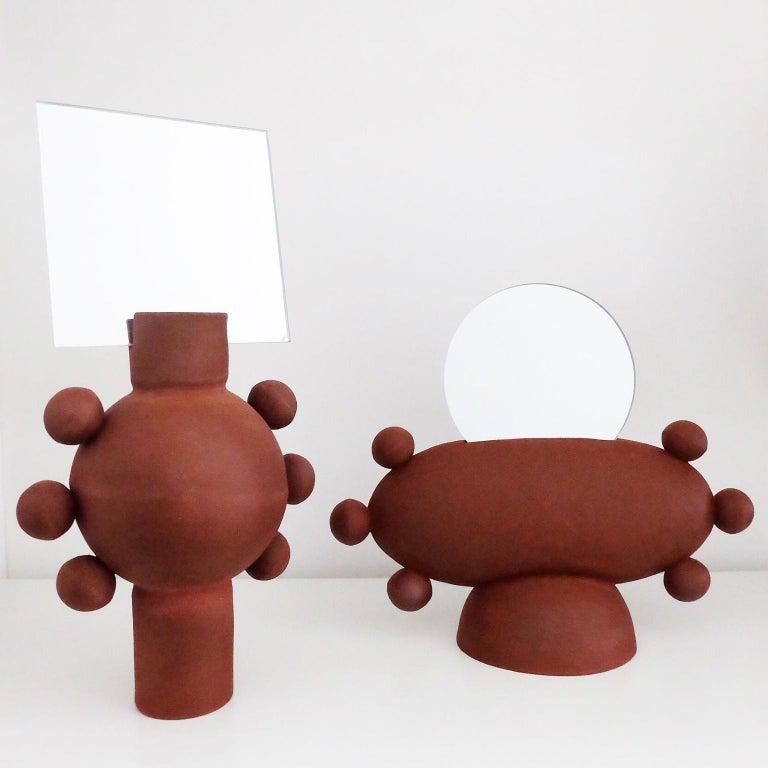 Modern Unique UFO Mirror by Ia Kutateladze For Sale