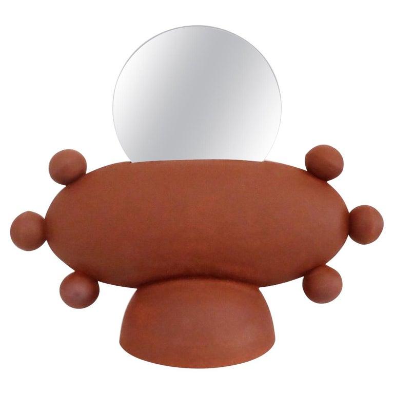 Unique UFO Mirror by Ia Kutateladze For Sale