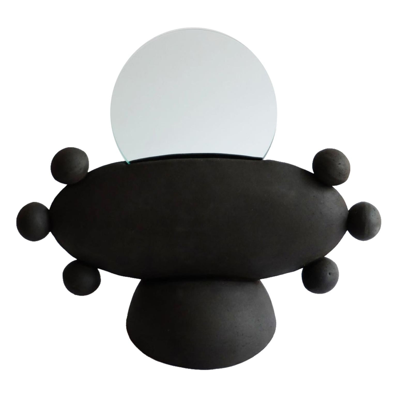 Unique UFO Mirror by Ia Kutateladze