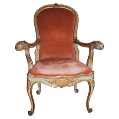 Unique Venetian Dog Chair Aristocratic Provenance