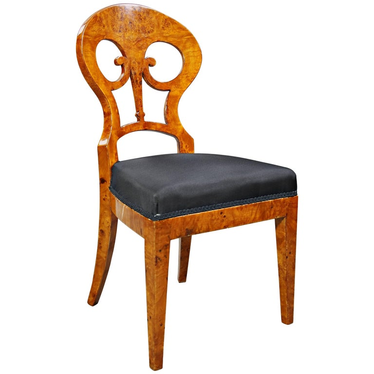Unique Viennese Chair In Biedermeier Style For Sale At 1stdibs